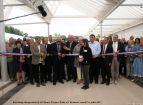 Inauguration de la  Filature de Ronchamp - Le ruban est coupé (1)