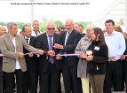 Inauguration de la  Filature de Ronchamp - Le ruban est coupé (2)